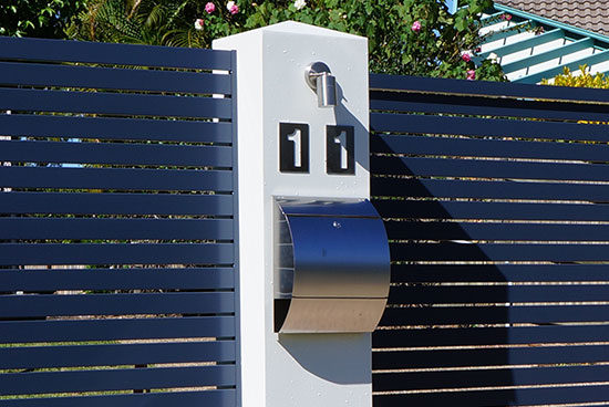 Lighting & Letter Boxes